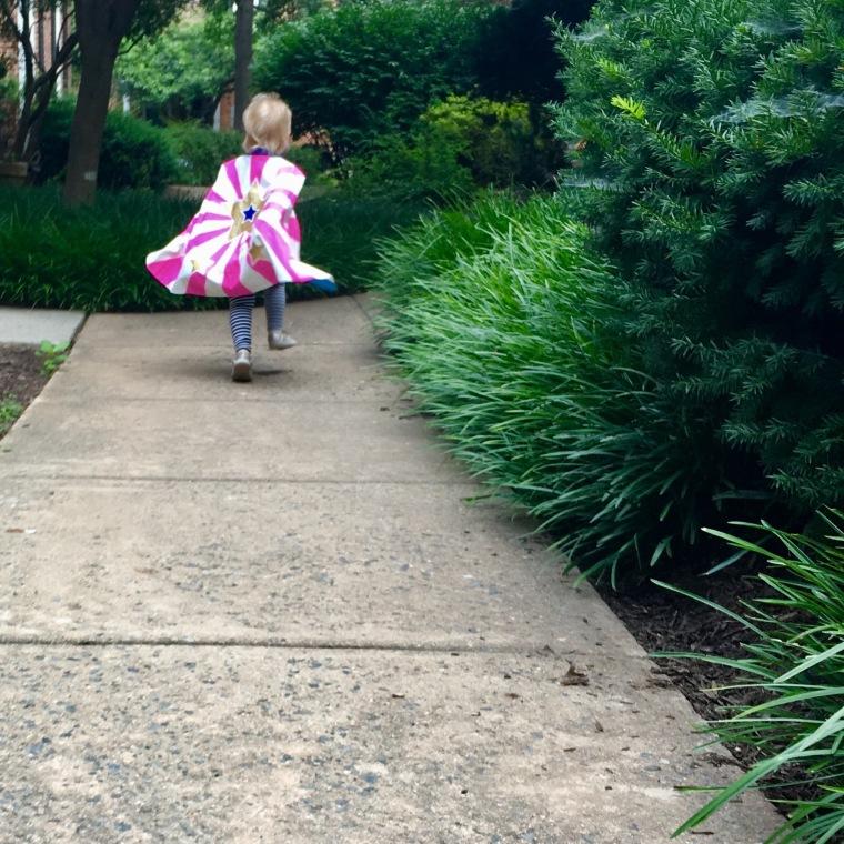 running in cape