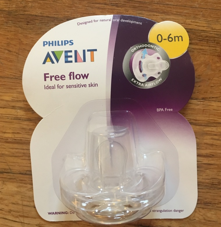 Philips Avent Freeflow Pacifier (0-6 Months)