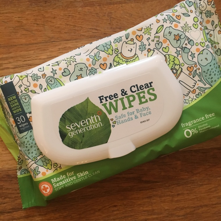 Seventh Generation Baby Wipes Free and Clear