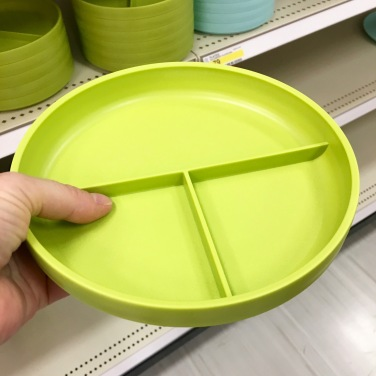 target divided plate