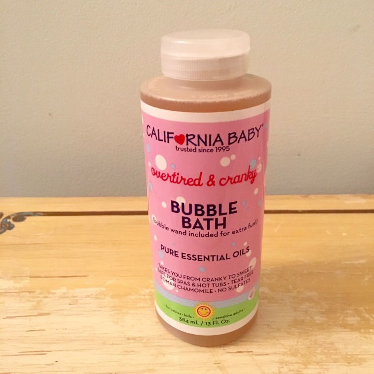 ca baby bubble bath
