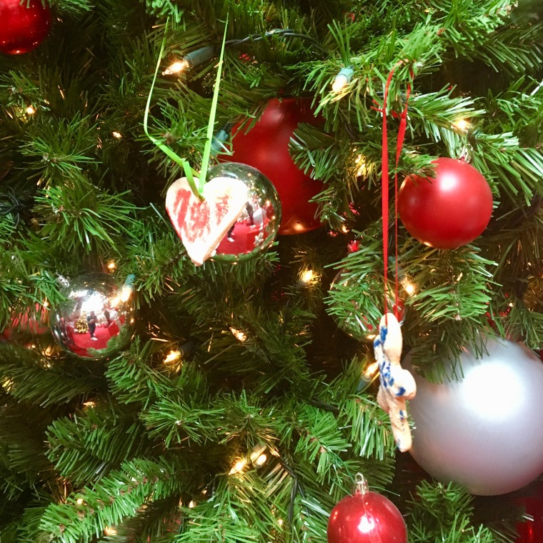 ornament on tree