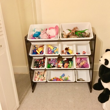 organizing bins