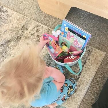 babystar with basket