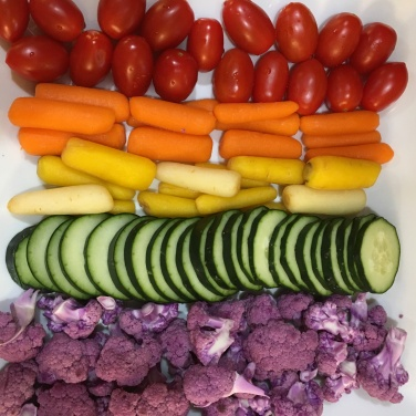 rainbow veggies